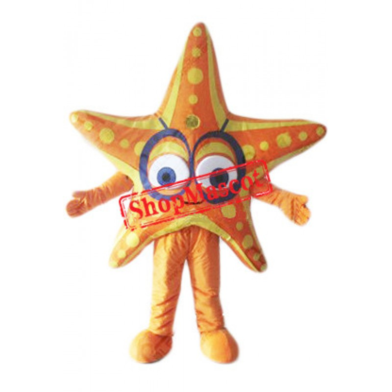 Cheap Star Fish Mascot Costume