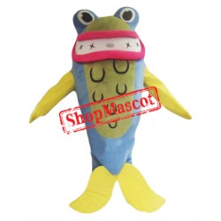 Cartoon Shark Mascot Costume
