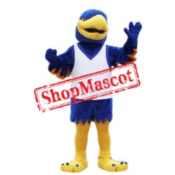 Power Blue Eagle Mascot Costume