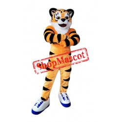 Lovely Lightweight Tiger Mascot Costume
