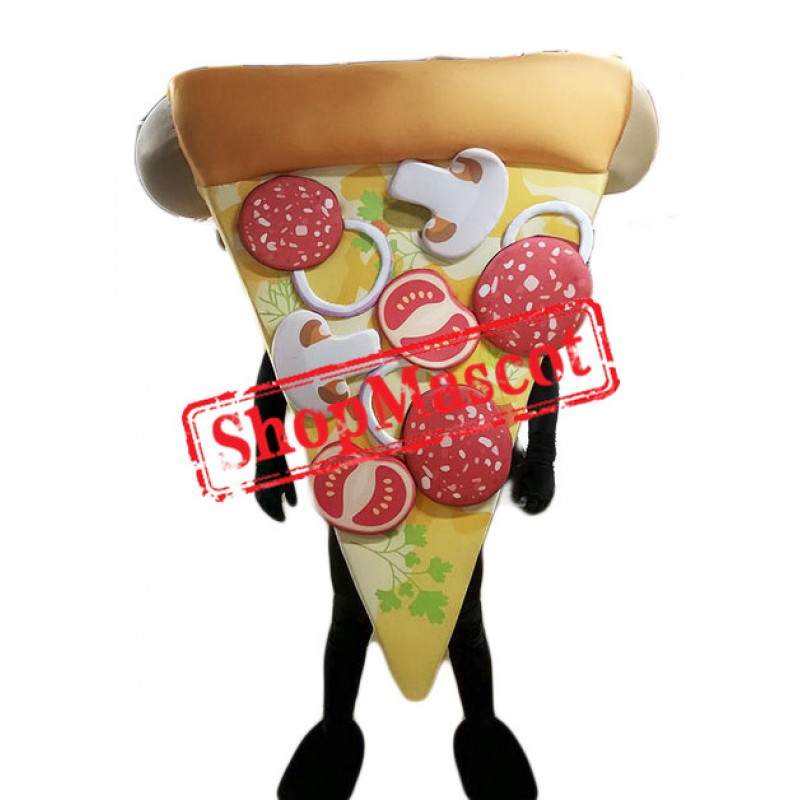 High Quality Pizza Mascot Costume Free Shipping
