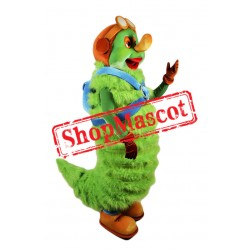 Green Caterpillar Mascot Costume