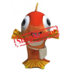 Happy Fish Mascot Costume