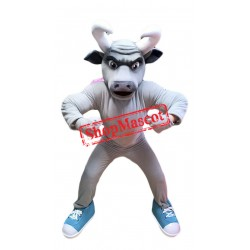 Power Bull Mascot Costume