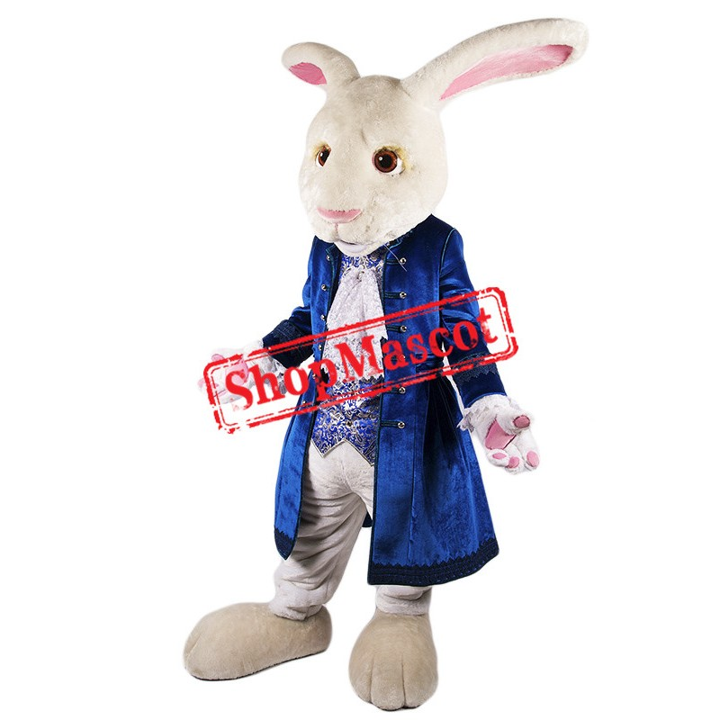 Elegant Rabbit Mascot Costume Free Shipping
