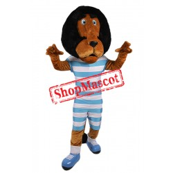 College Lightweight Lion Mascot Costume Free Shipping