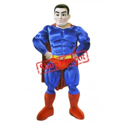 Power Super Hero Mascot Costume