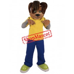 College Puppy Dog Mascot Costume