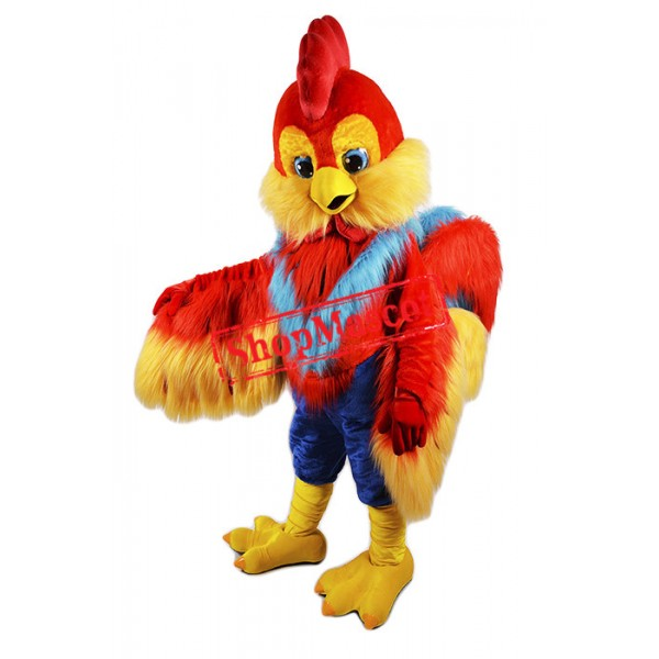 Best Quality Rooster Mascot Costume