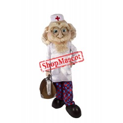 High Quality Old Doctor Mascot Costume