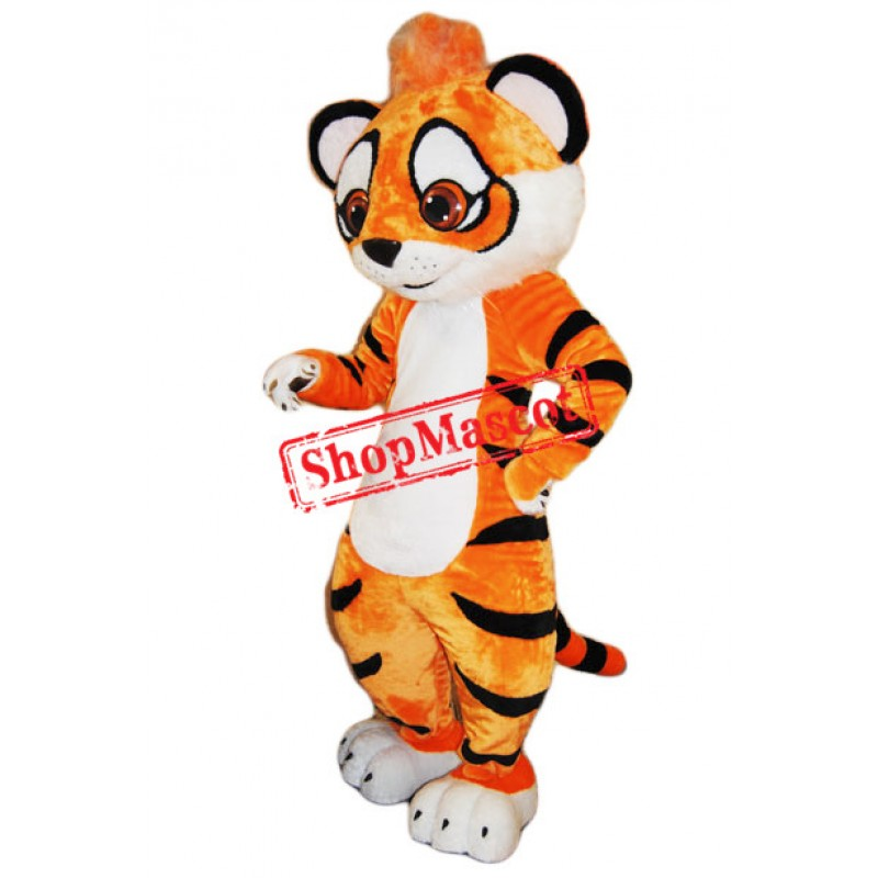 Cute Amur Tiger Mascot Costume