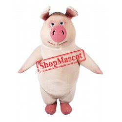 Best Quality Pig Mascot Costume