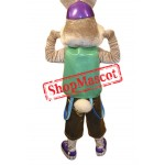 Sport Rabbit Mascot Costume