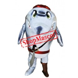 Pirate Shark Mascot Costume