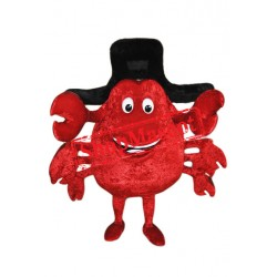 Happy Lightweight Crab Mascot Costume