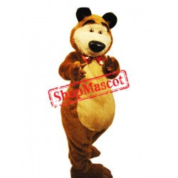 Super Cute Furry Bear Mascot Costume