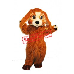 Super Cute Furry Dog Mascot Costume