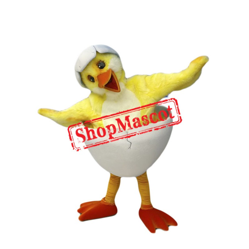Cute Lightweight Chick Mascot Costume