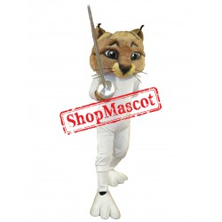 Fencer Cat Mascot Costume