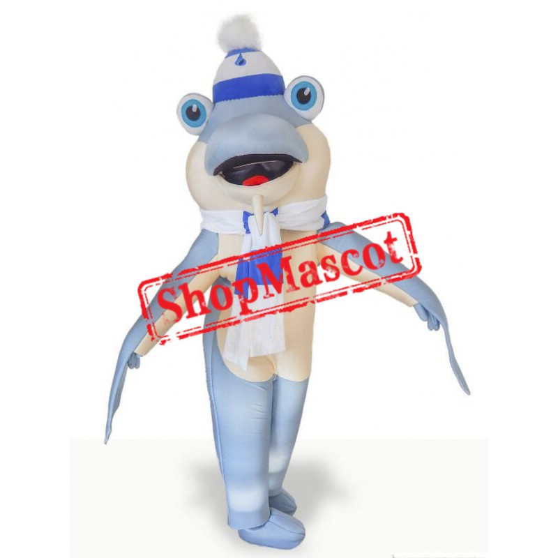 Super Cute Shark Mascot Costume