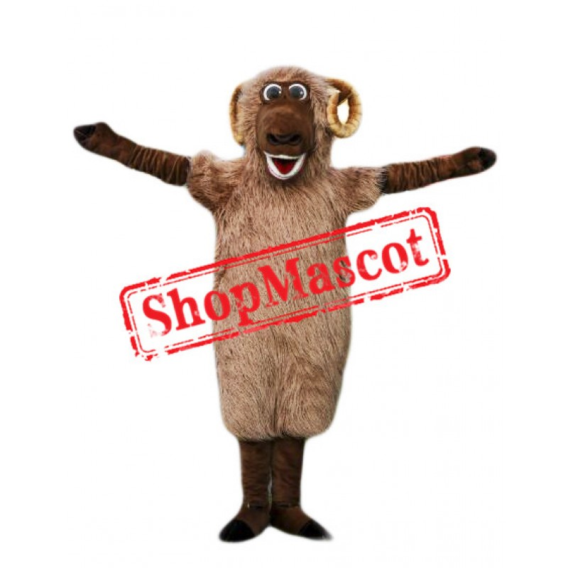 Happy Lightweight Sheep Mascot Costume