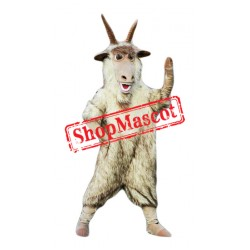 Top Quality Goat Mascot Costume