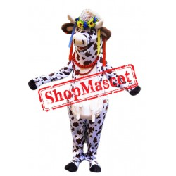 Beautiful Lightweight Cow Mascot Costume