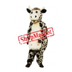 Friendly Cow Mascot Costume Free Shipping
