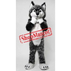 Super Cute Wolf Mascot Costume