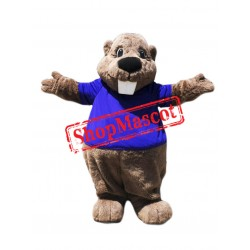 Top Quality Lightweight Beaver Mascot Costume