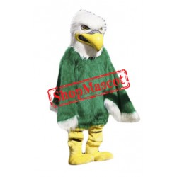 High Quality Green Eagle Mascot Costume