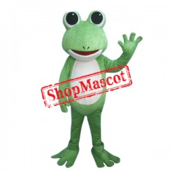 Cheap Lightweight Green Frog Mascot Costume