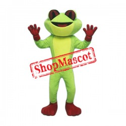 Red Eye Frog Mascot Costume