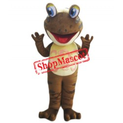 Brown Lightweight Frog Mascot Costume