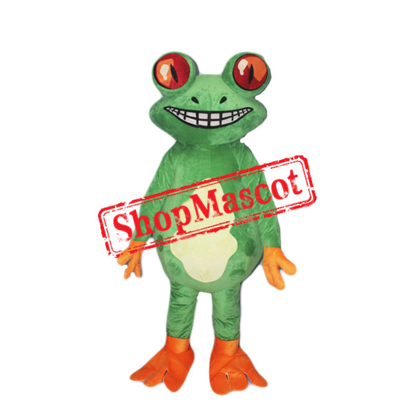 Red Eye Frog Mascot Costume Free Shipping