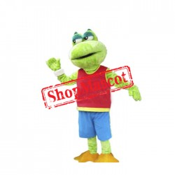 Cute Animal Frog Mascot Costume