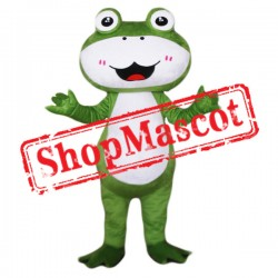 Cute Animal Frog Mascot Costume Free Shipping