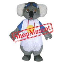 Cute Cartoon Koala Mascot Costume