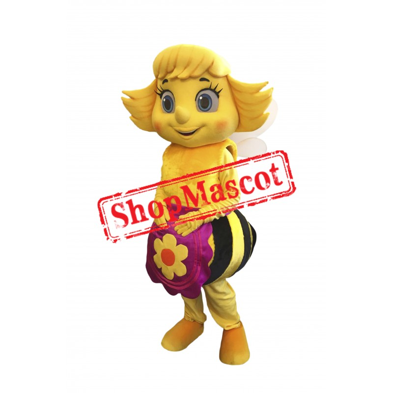 Beautiful Female Bee Mascot Costume