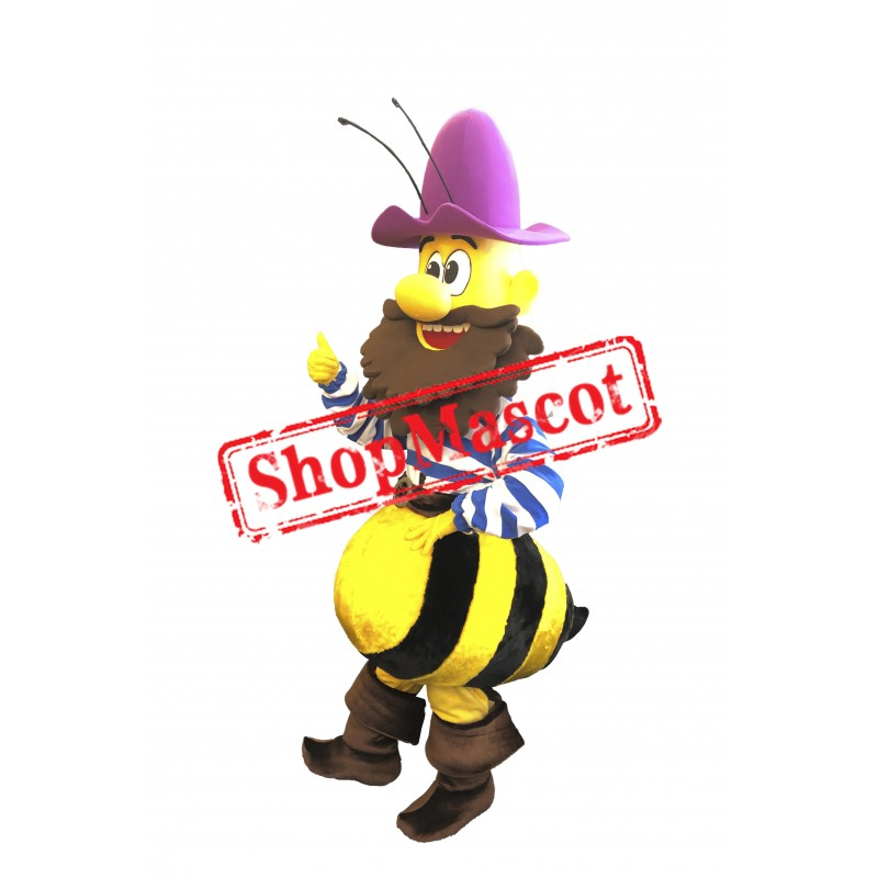 High Quality Old Bee Mascot Costume