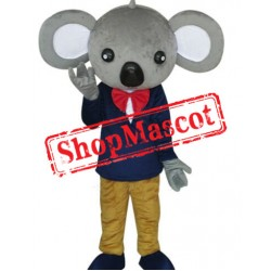 Cheap Gentleman Koala Mascot Costume