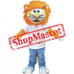 Professional Plush Lion Mascot Costume