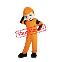 Top Quality Builder Mascot Costume