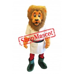 Sport Lightweight Animal Lion Mascot Costume