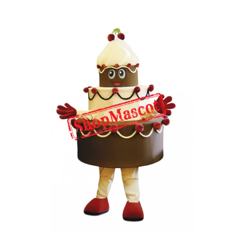 Top Quality Birthday Cake Mascot Costume