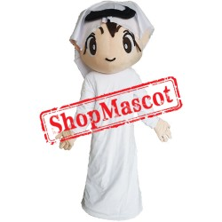 Arab Boy Mascot Costume