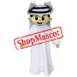 High Quality Arab Boy Mascot Costume