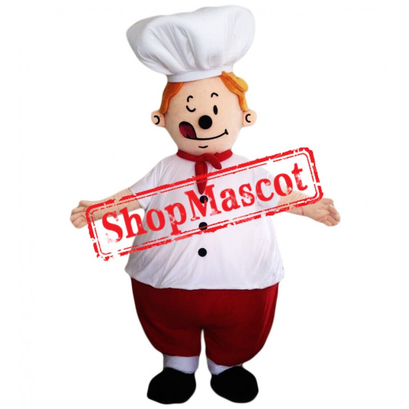 Good Quality Chef Mascot Costume