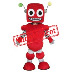 Red Robot Mascot Costume