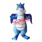 Top Quality Lightweight Blue Dragon Mascot Costume